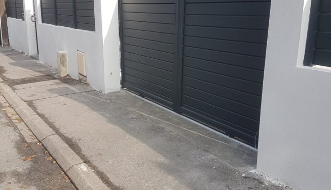 Portail & portillon alu QUAI BRANLY