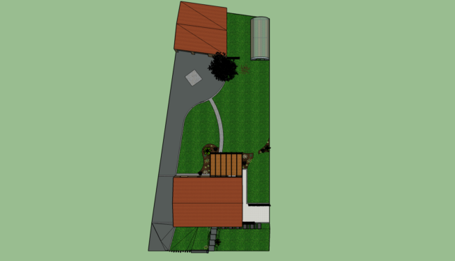 Plan aménagement ROUANS papyrus paysage